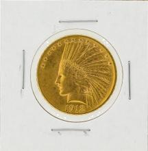 1912 $10 Indian Head Eagle Gold Coin