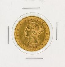 1884 $10 CU Liberty Head Eagle Gold Coin
