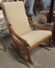 Vintage Maple Nursery Rocker