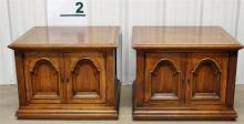 Pair of Oak End Tables