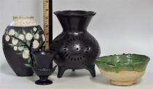4 Pottery Vessels