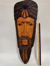 Wood Carved Mask