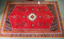 Handknotted Rug, 4'6 x 6'8