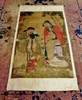 LARGE  ANCESTRY PAINTING ON SCROLL, CHINESE FAMILY, SIGNED