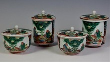 CHINESE PORCELAIN ENAMEL COVERED JARS