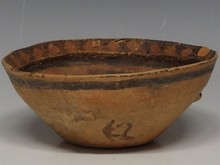 Neolithic Pottery Bowl