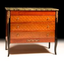 Louis XVI-style Dresser with Front Inlay