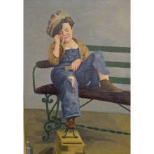Sleeping Shoe Shine Boy, M. Rikin 1942