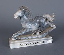 Hand Carved Marble Horse Statue