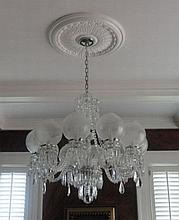 Ten-armed Chandelier