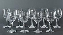 9 Wine Glasses Royal Doulton