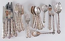Reed & Barton Tara 40 Pc Sterling Silver Flatware