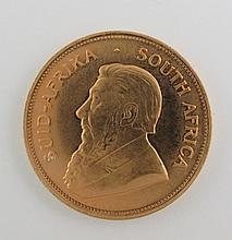 1973 South Africa 1 oz Krugerrand Gold Coin