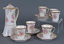 Haviland Limoges Chocolate Set 19th-early 20th C
