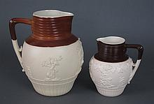 John Turner Ale and Cream Jugs Ca. 1800