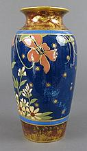 19th C Wedgwood Glaze and Enamel Vase