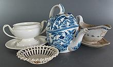 4 Pieces Wedgwood Late 19th C, Early 20th C