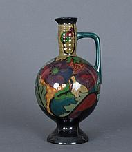 PZH Gouda Art Pottery 1923 Hand Painted Ewer