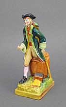 Wedgwood Porcelain Pirate Figure, Late 19th C