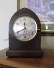 Seth Thomas Arched Top Shelf Clock