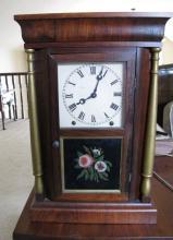 Ansonia Mahogany Shelf Clock