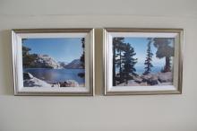 4 Framed Photos of Yosemite