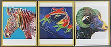 3 Andy Warhol Prints Endangered Species