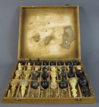 Horn Chess Set