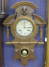 19th C Ansonia Victorian Wall Clock