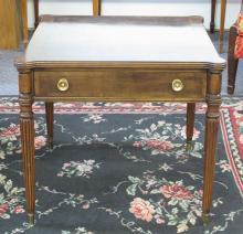 Mahogany Side Table by Henredon