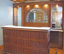 Wet Bar, Front and Back