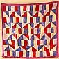 Mid-20th C. Silk Bojagi, Korean Wrapping Cloth