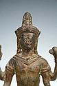 Khmer Bronze Vishnu Figure poss. 12th-13th Century