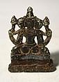 Small Tibetan Stoneware Buddha Figure