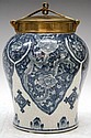 American-Style Chinese Export Blue & White Jar 19C