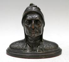Bronze Bust of Dante