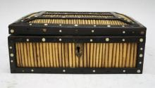 Ebony and Quill Box, 19th Century