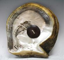 Philippine Fikum Tribal Mother of Pearl Ornament