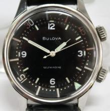 Bulova Diver's Wristwatch, 17 Jewels, Vintage
