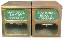 Two National Biscuit Store Bins