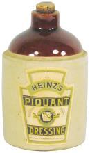 Heinz's Piquant Dressing Stoneware Jug