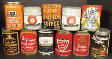 Eleven One Pound Coffee Tins
