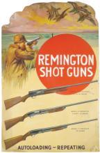 1931 Remington Shot Guns Cardboard Sign