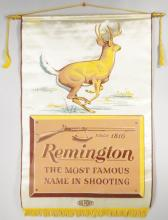 1961 Remington Silk Store Banner