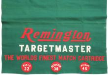 Remington Targetmaster Felt Banner