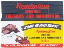 Remington Canvas Banner