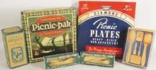 Collection of Vintage Picnic Supplies