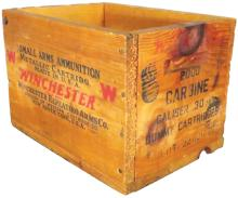 Winchester Metallic Dummy Cartridges Crate