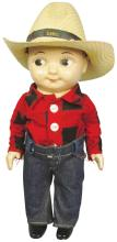 Buddy L Lee Farmer Doll