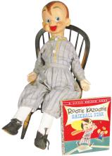 Rootie Kazootie Doll and Book
